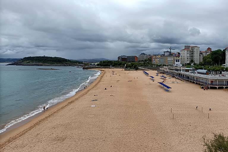 Santander, el Sardinero