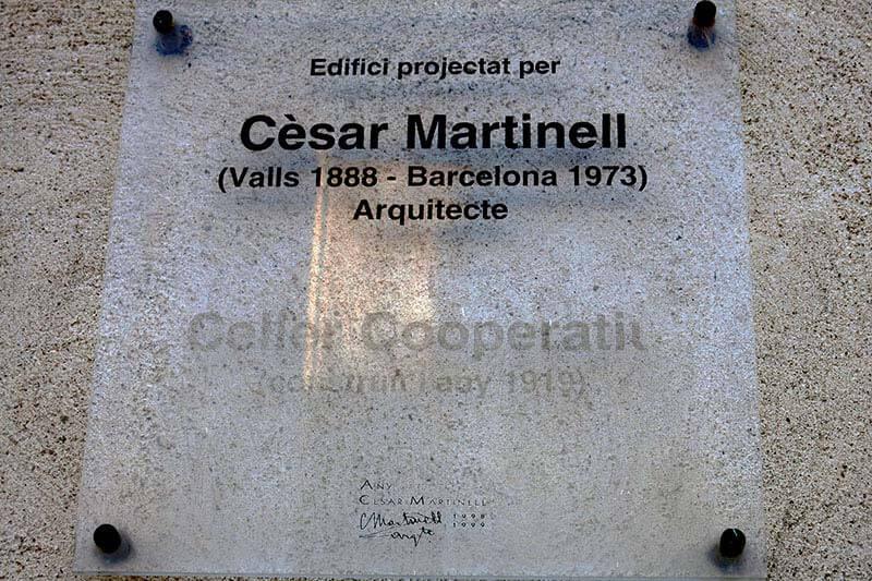 Celler modernista Cornudella de Montsant