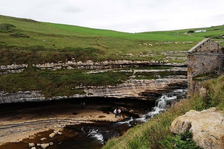 Molino y cascada el Bolao, Cantabria