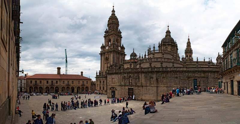 Praza Quintana. Santiago de Compostela