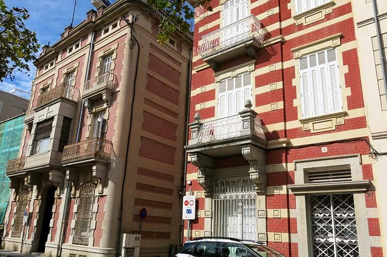 Sant Feliu de Guixols, Girona, casa Sibils i casa Ribot