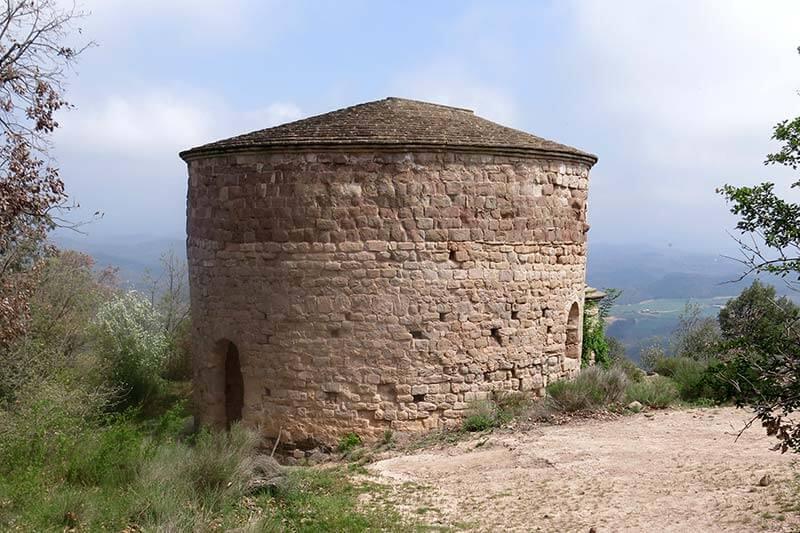 Esglesia romanica de sant Vicenç Lluça