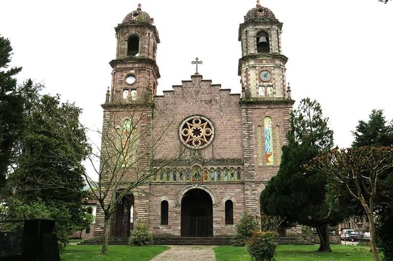 Elizondo, Iglesia de Santiago