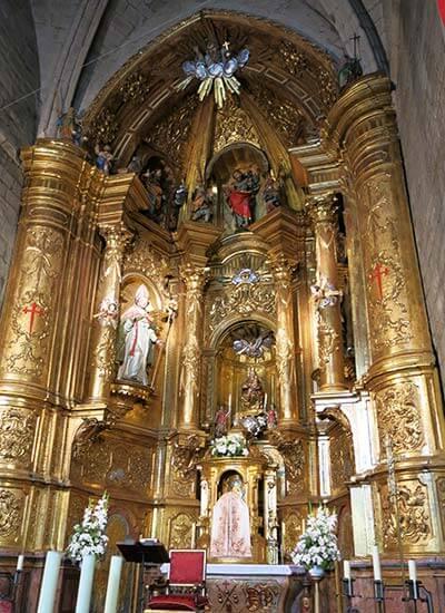 Sanguesa. Iglesia de Santiago