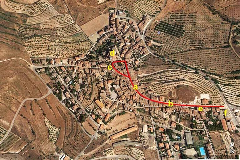 Ulldemolins. Tarragona (Google earth 2020-12-03)