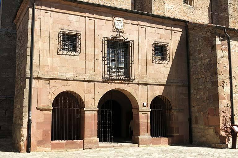 Medinaceli Colegiata Nuestra Señora de la Asuncion