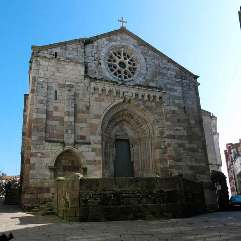 Iglesia de Santiago A Coruña