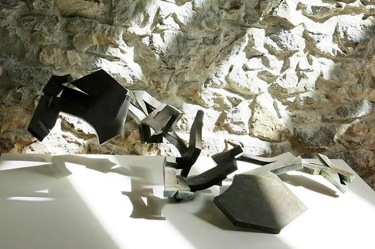 Chillida Homenaje a Gaston Bachelard. Sueño articulado, 1958, hierro