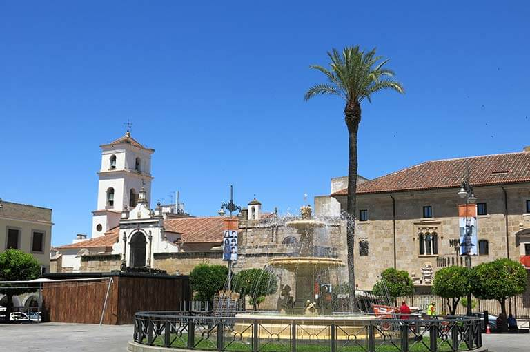 Merida Plaza de España
