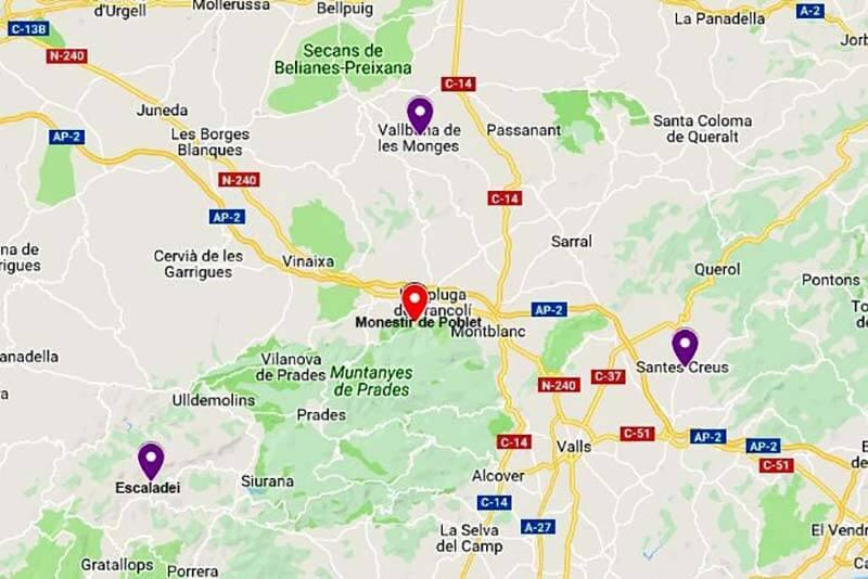 Monestirs Tarragona