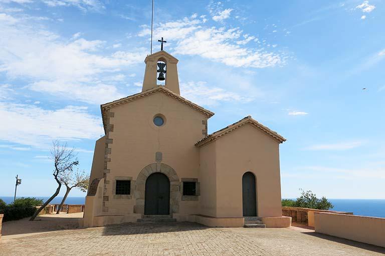 Sant Feliu de Guixols, Girona, ermita de Sant Elm