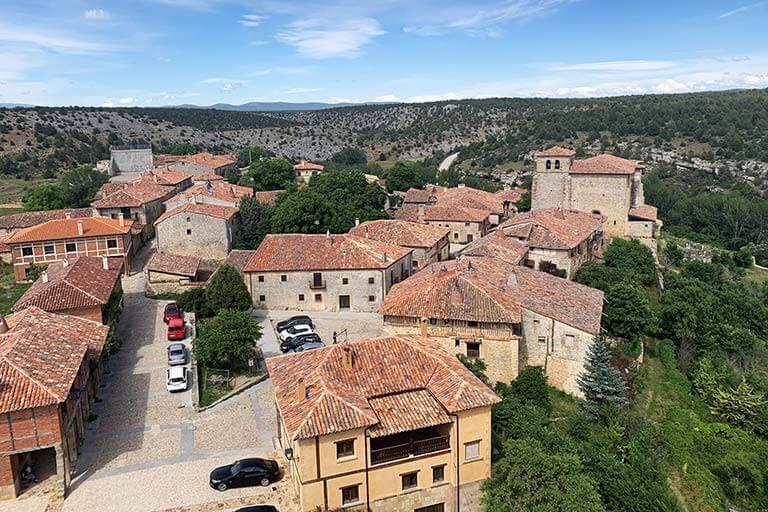 Vistas desde el Castillo de Calatañazor, Soria
