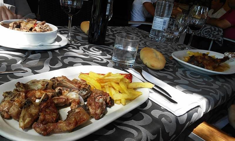 Restaurante El Puente, Pinofranquedao, Las Hurdes