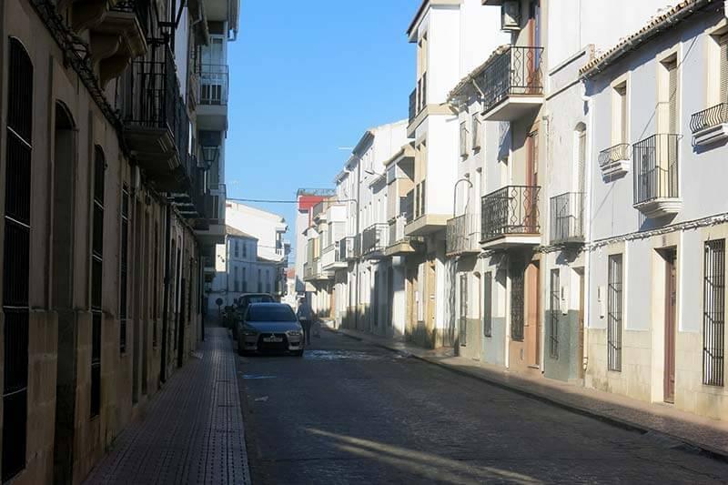 Sabiote Calle Blas Infante