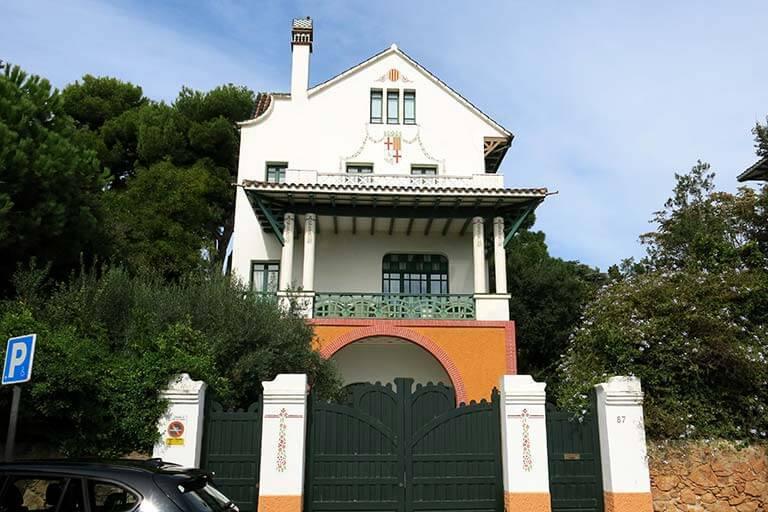 Sant Feliu de Guixols, Girona, Platja de Sant Pol, Casa Girbau EstradaGirbau-Estrada