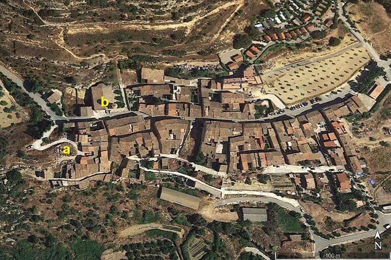 Vilanova de Prades. Tarragona (Google earth 2020-12-03)