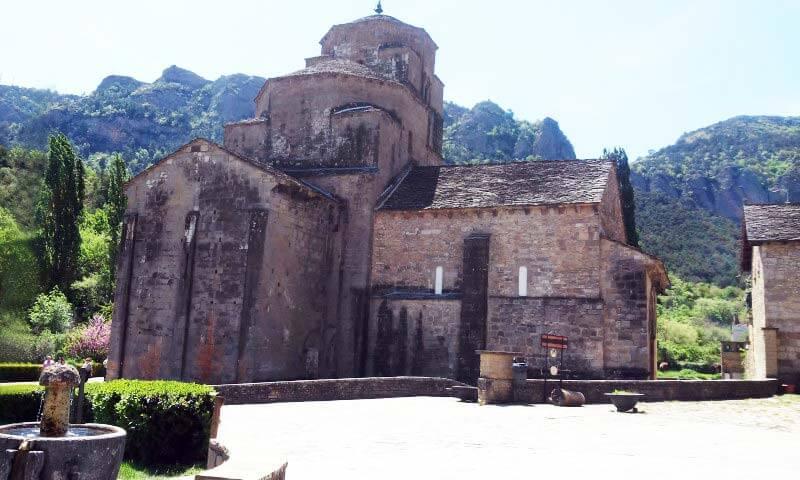 Santa Maria de Seros Santa Cruz de la Seros