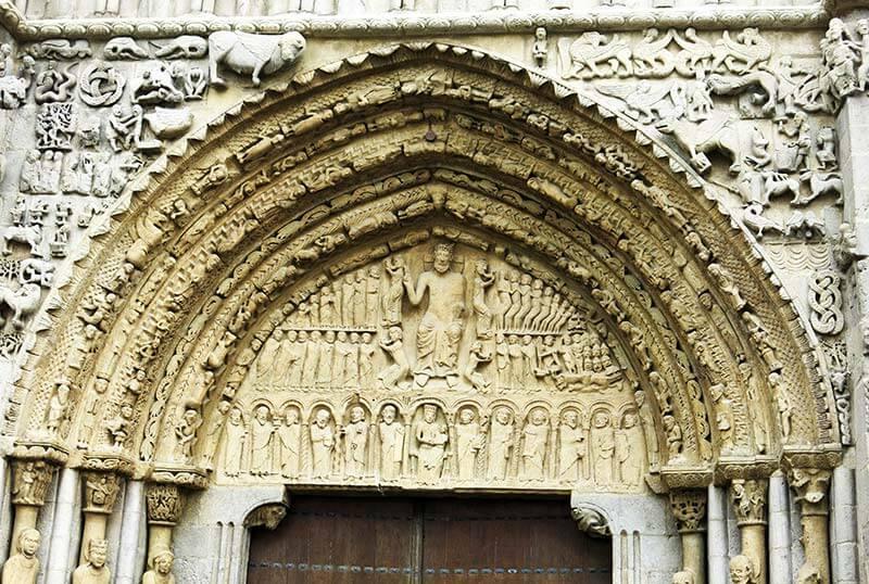 Sangüesa Iglesia de Santa Maria la Real