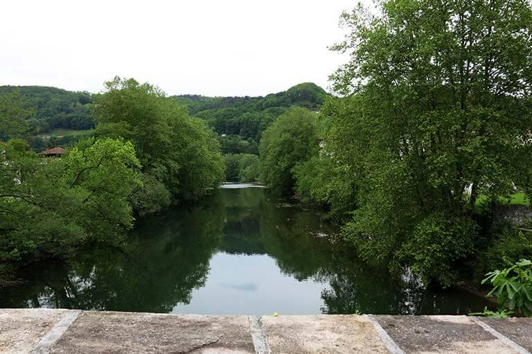 Bera Navarra Puente de San Miguel, rio Bidasoa