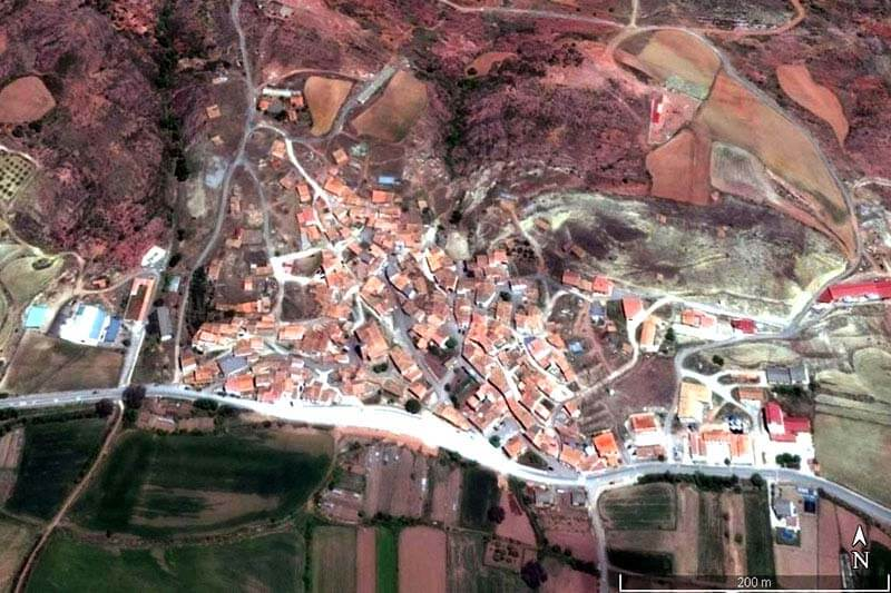 Torres de Albarracín (Google earth 2018-12-29)