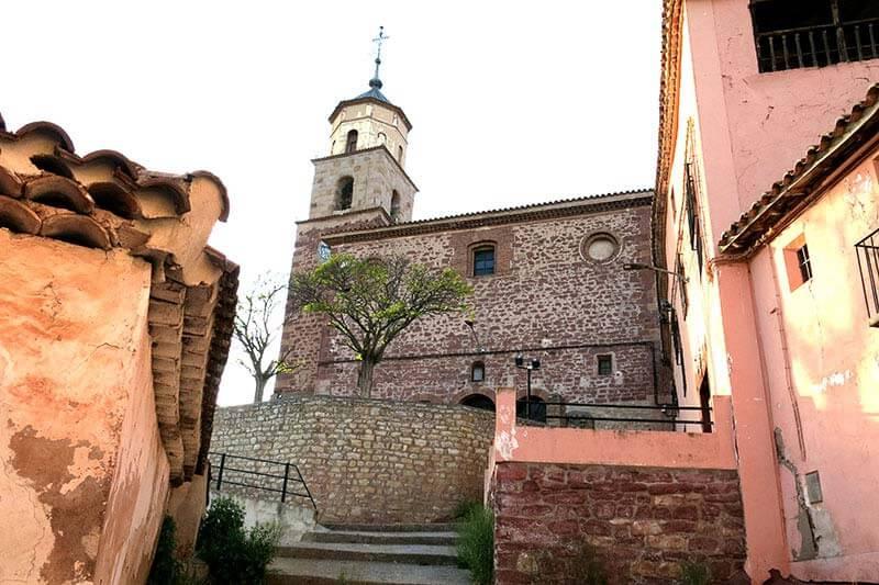 Torres de Albarracín Iglesia de san Miguel