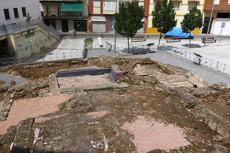 Merida Termas de la calle Pontezuelas