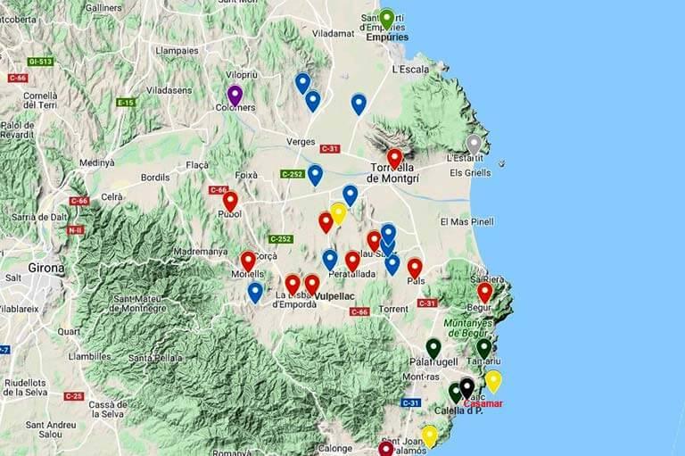 Plana del Ter (Google maps 2019-10-18)