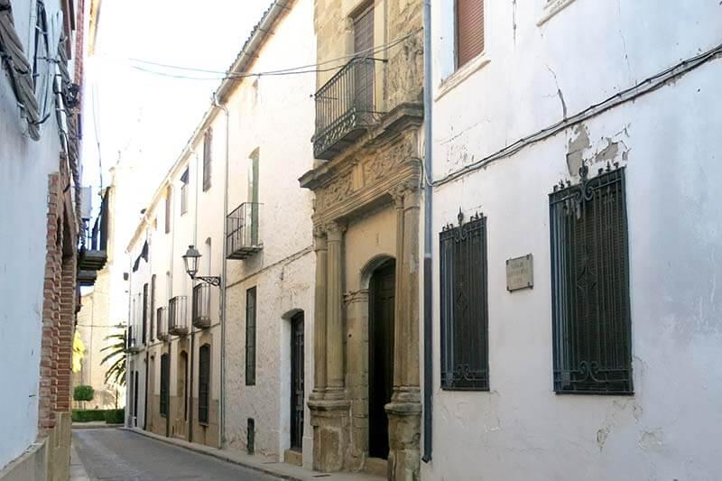 Sabiote Casa Palacio de las Columnas
