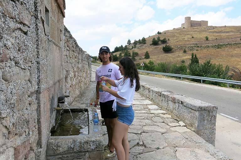 Medinaceli Fuente de la Canal