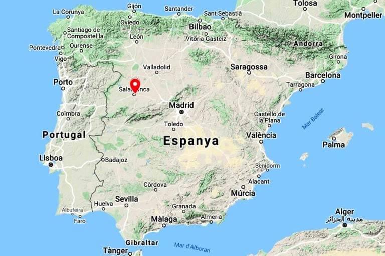 Salamanca (Google maps 2020-06-24)