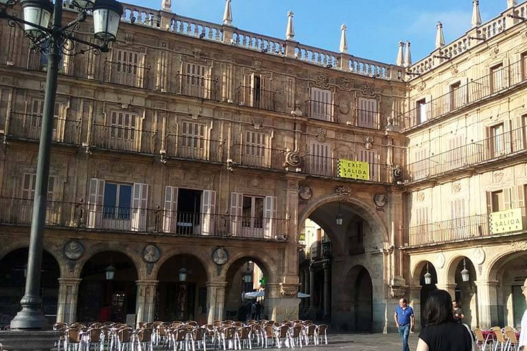 Salamanca, Plaza Mayor