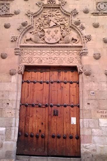 Salamanaca, Casa de las Conchas