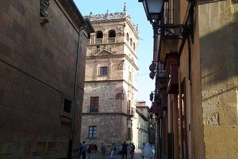 Salamanca, calle de la Compañia